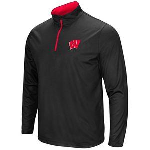 Men's Campus Heritage Wisconsin Badgers Quarter-Zip Windshirt
