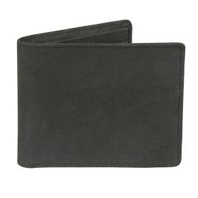Men's Lee RFID-Blocking Nubuck Leather Bifold Wallet