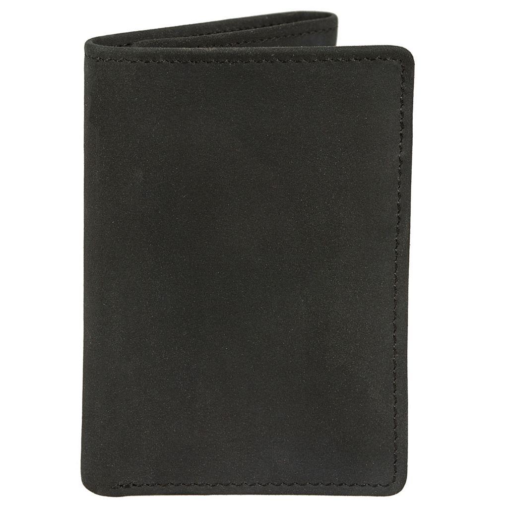 Men's Lee RFID-Blocking Nubuck Leather Trifold Wallet