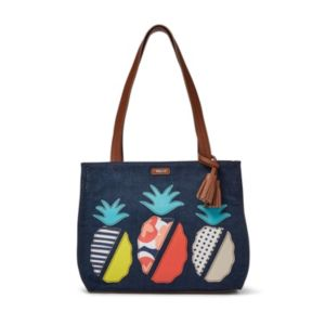 Relic Callie Pineapple Applique Double Shoulder Bag