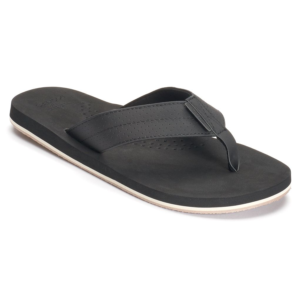 Men's Dockers Perforated-Strap Flip-Flops