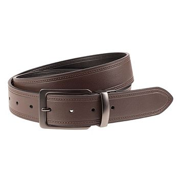 Men's Lee Reversible Flat-Strap Belt