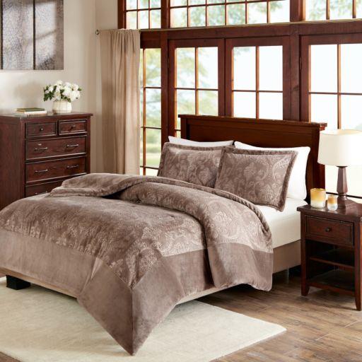 Premier Comfort Kramer Plush Down Alternative Comforter Set
