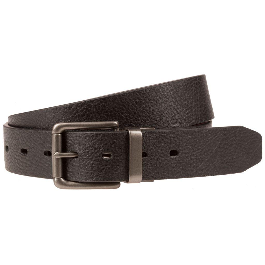 Men's Lee Reversible Pebble Smooth Belt