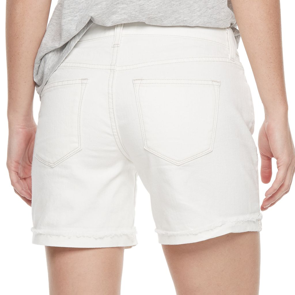 Women's SONOMA Goods for Life™ White Jean Shorts