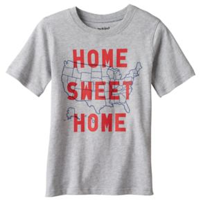 """Boys 4-10 Jumping Beans® """"Home Sweet Home"""" United States Graphic Tee"""