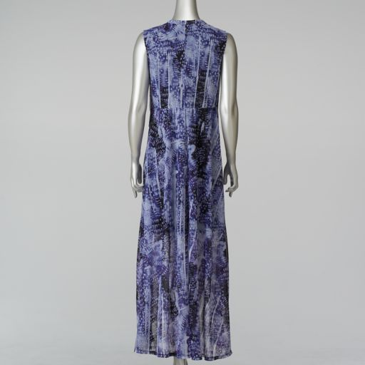 Women's Simply Vera Vera Wang Print High-Low Maxi Dress