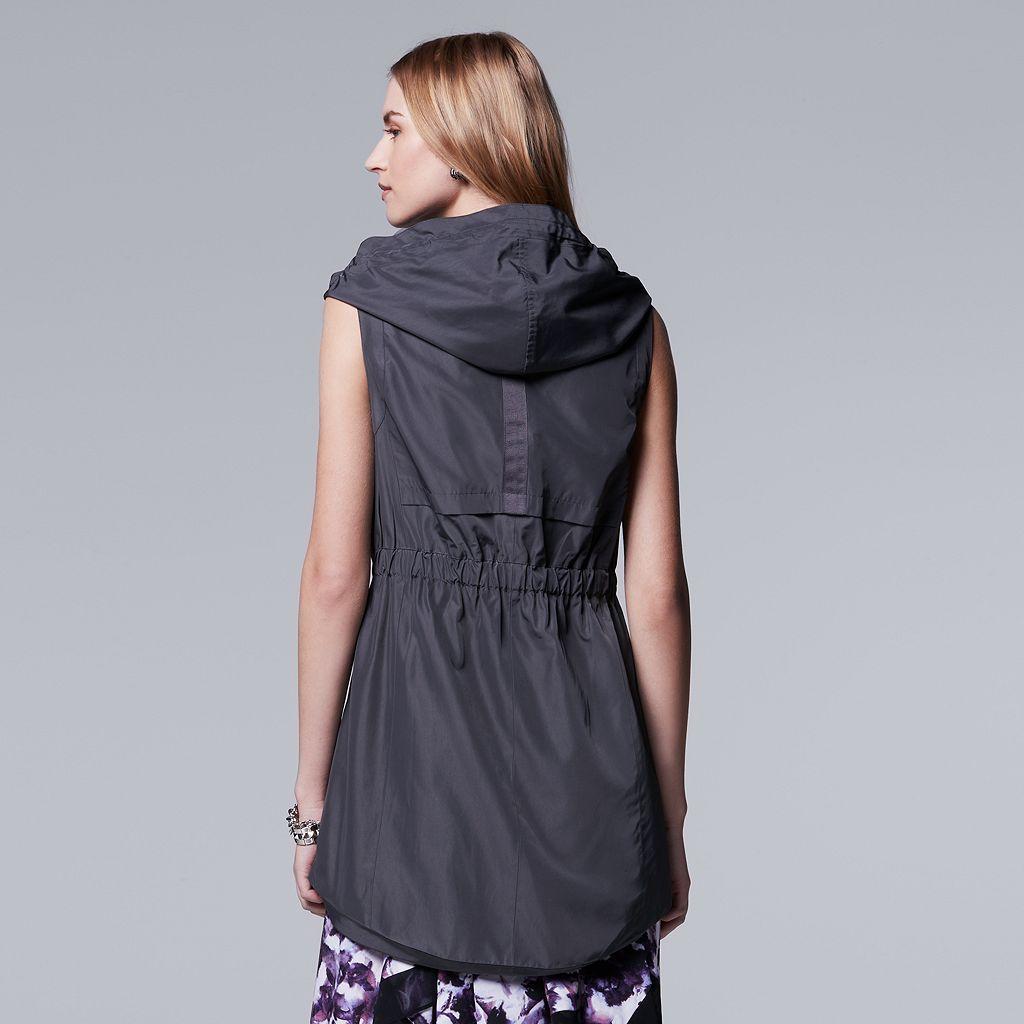 Women's Simply Vera Vera Wang Asymmetrical Vest