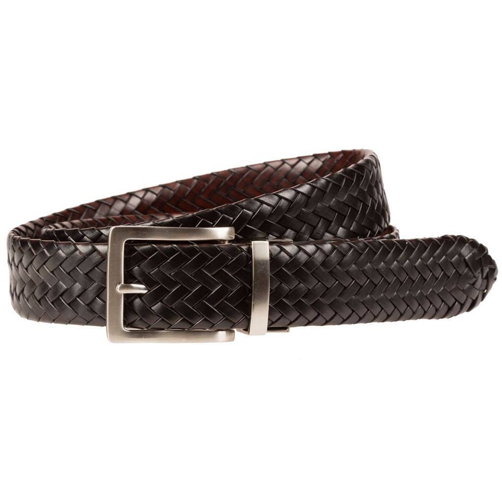 Men's Lee Reversible Braided Belt