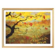 Art.com Apple Tree With Red Fruit, c.1902 Framed Wall Art