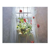 Art.com Red Geraniums Wall Art Print