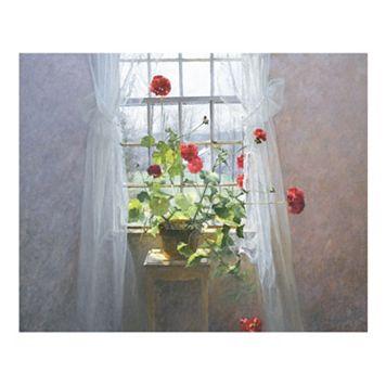 Art.com Red Geraniums Wall Art Print