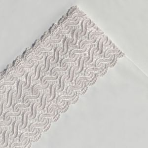 Pointehaven 300 Thread Count Lace Sheet Set