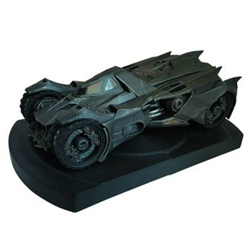 DC Comics Batman Arkham Knight Batmobile Statue Bookends by ICON Heroes