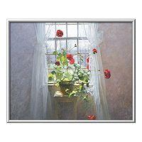 Art.com Red Geraniums Framed Wall Art