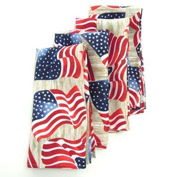 Celebrate Americana Together Flag Napkin 4-pk.