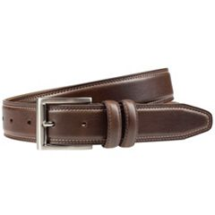 Men's Lee Bevel-Edge Double-Stitched Belt