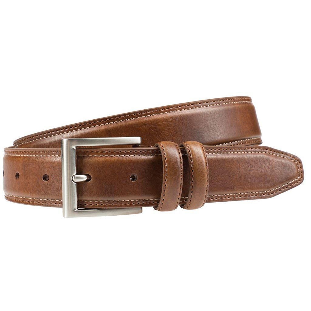 Men's Lee Bevel-Edge Double-Stitched Belt
