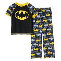 Boys 4-20 DC Comics Batman Digi Camo 2-Piece Pajama Set