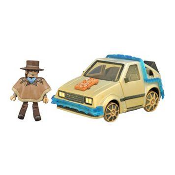 Back To The Future Minimates Rail Ready Time Machine by Diamond Select Toys