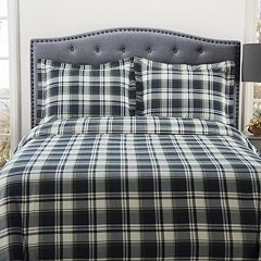 Grand Collection Cozy Nights Flannel Duvet Cover Set