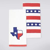 Celebrate Americana Together Texas State Kitchen Towel 2-pk.