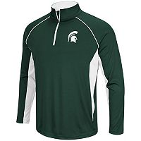 Men's Campus Heritage Michigan State Spartans Airstream Quarter-Zip Top