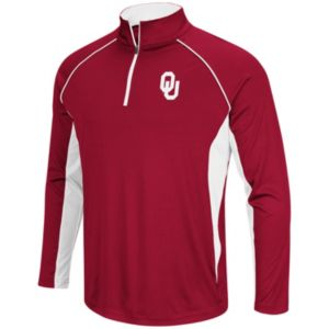 Men's Campus Heritage Oklahoma Sooners Airstream Quarter-Zip Top