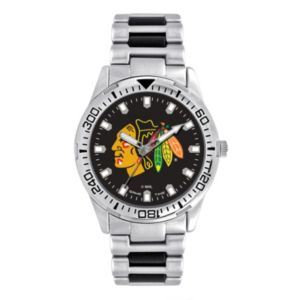 Men's Game Time Chicago Blackhawks Heavy Hitter Watch