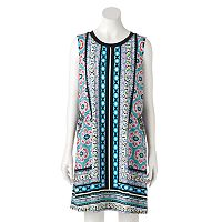 Women's AB Studio Boho Print Swing Dress