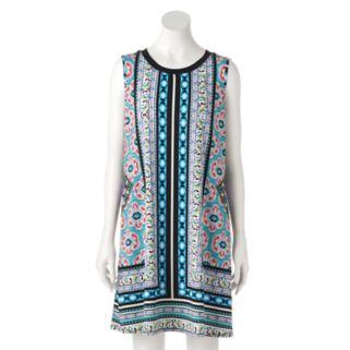 Women's AB Studio Boho Print Swing Dress