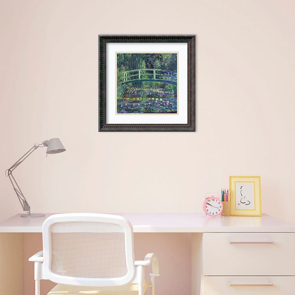 Amanti Art Water Lily Pond, 1899 Framed Wall Art