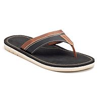 Men's Dockers Elevated Stitched Flip-Flops