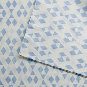 Urban Habitat Diamond Printed Cotton Sheet Set