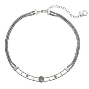 Simply Vera Vera Wang Double Strand Curved Bar Necklace