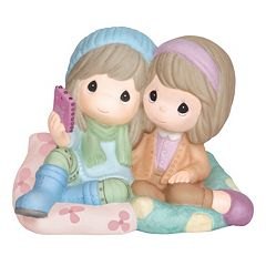 Precious Moments Girls Taking Selfie Figurine