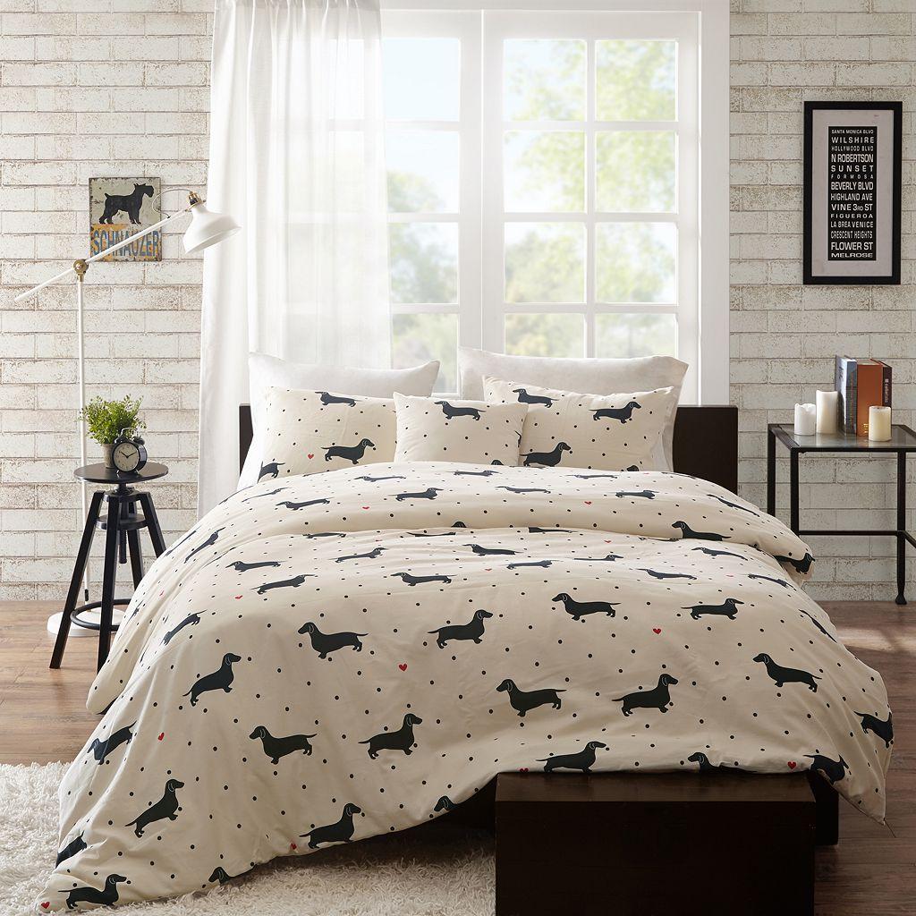 HipStyle 4-piece Hannah Comforter Set