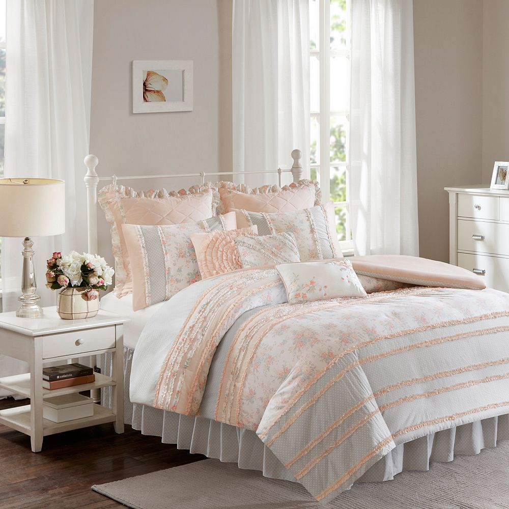 Madison Park 9-piece Harmony Duvet Cover Set