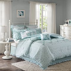 Madison Park 9-piece Heidi Duvet Cover Set