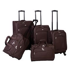 American Flyer South West Collection 5 pc Luggage Set