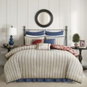 Madison Park 9-piece Georgia Duvet Cover Set