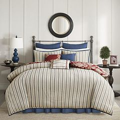 Madison Park 9 pc Georgia Duvet Cover Set