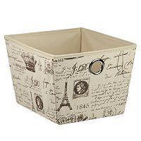 Home Basics Paris Storage Box