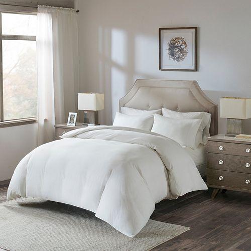 Madison Park 4-piece Luxury Cotton Duvet Cover Set