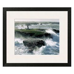 Art.com Avis de Coup de Vent sur les Poulains Framed Wall Art