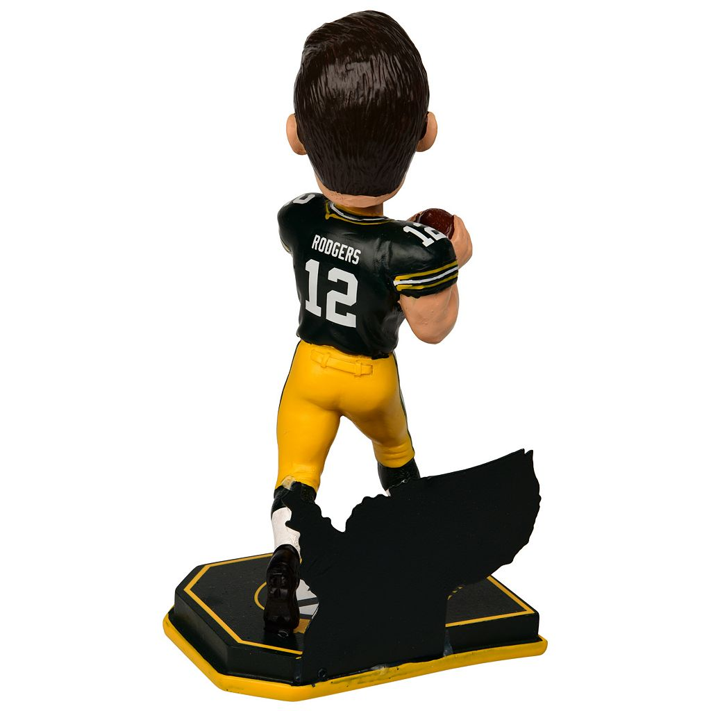 Forever Collectibles Green Bay Packers Aaron Rodgers Bobble Head