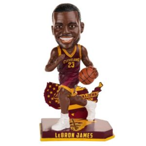 Forever Collectibles Cleveland Cavaliers LeBron James Bobble Head