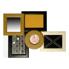 New View Multifunctional 1-Opening Corkboard Collage Frame
