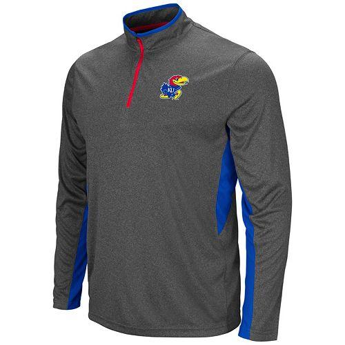 Men's Campus Heritage Kansas Jayhawks Atlas Quarter-Zip Windshirt