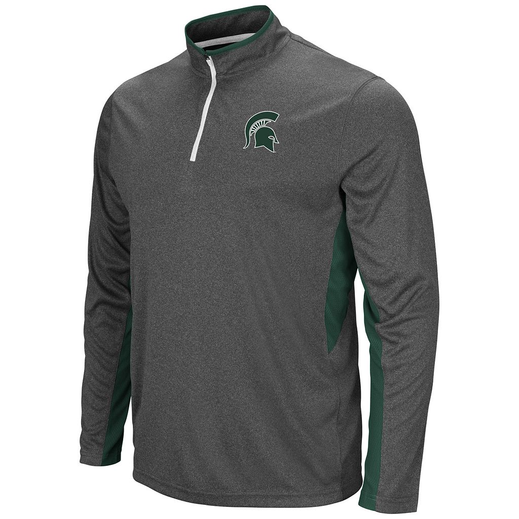 Men's Campus Heritage Michigan State Spartans Atlas Quarter-Zip Windshirt